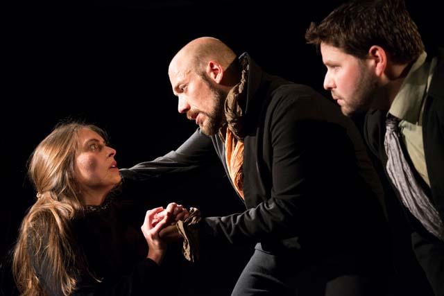 Zurmühlen, Baboi und von Frantzius in Dracula im TAS in Köln