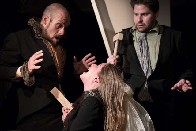 Baboi, Zurmühlen und Frantzius in Dracula im TAS in Köln