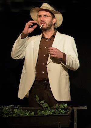 Felix Höfner ist Schauspieler im Theater am Sachsenring