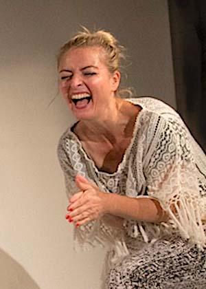 Doris Lehner ist Schauspielerin im Theater am Sachsenring