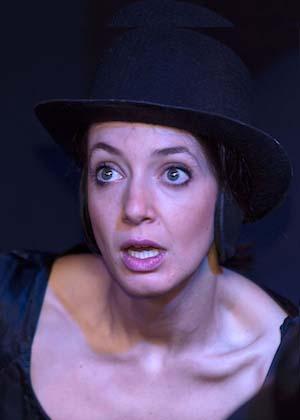 Anna Möbus ist Schauspielerin im Theater am Sachsenring